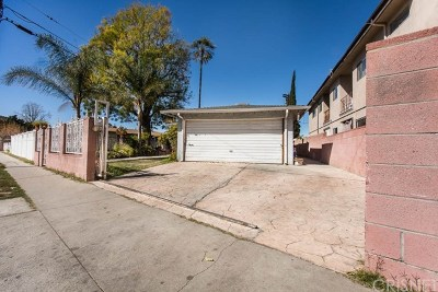 North Hollywood Multi Family Home For Sale: 11665 Erwin Street