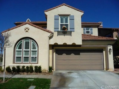 Stevenson Ranch Single Family Home For Sale: 25225 Favoloso Court