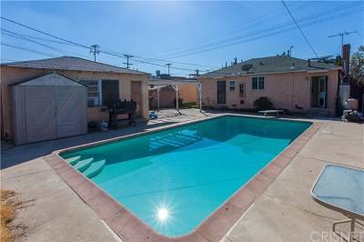 North Hollywood Single Family Home For Sale: 11417 Saticoy Street