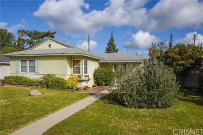 Granada Hills Single Family Home Active Under Contract: 15657 Ludlow Street