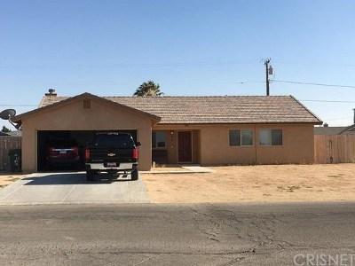 California City Single Family Home For Sale: 9700 Karen Avenue
