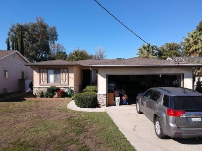 Van Nuys Single Family Home For Sale: 7039 Bevis Avenue