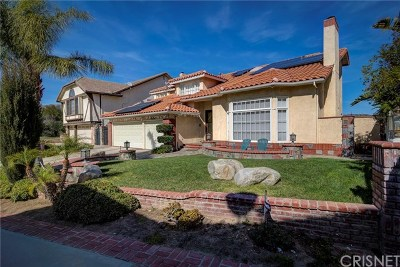 Porter Ranch Single Family Home For Sale: 18705 Stonehaven Court