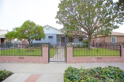 San Fernando Single Family Home For Sale: 11543 Rincon Avenue
