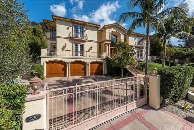 Sherman Oaks Single Family Home For Sale: 3620 Longridge Avenue