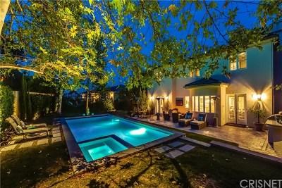 Sherman Oaks Single Family Home For Sale: 3679 Benedict Canyon Lane