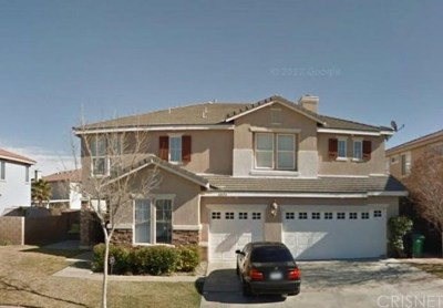 Palmdale, Lancaster, Quartz Hill, Leona Valley, Lake Elizabeth, Lake Hughes, Antelope Acres, Rosamond, Littlerock, Juniper Hills, Pearblossom, Lake Los Angeles, Wrightwood, Llano Single Family Home For Sale: 40454 35th Street W