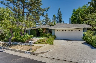 Porter Ranch Single Family Home For Sale: 10680 Baton Rouge Place