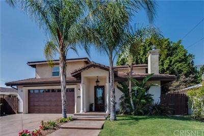 Valley Glen Single Family Home For Sale: 5807 N Wilkinson Avenue