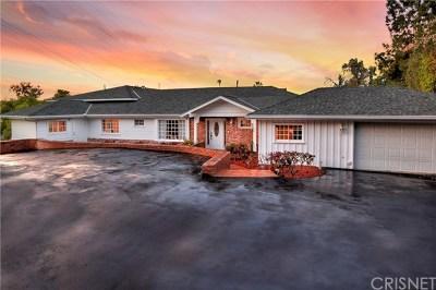 Tarzana Single Family Home For Sale: 4910 Brewster Drive