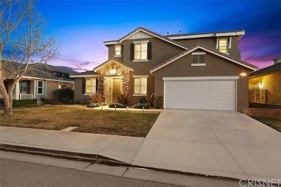 Palmdale Single Family Home For Sale: 3606 Club Rancho Drive