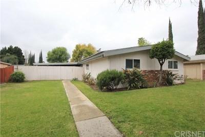 Reseda Single Family Home For Sale: 6435 Wilbur Avenue