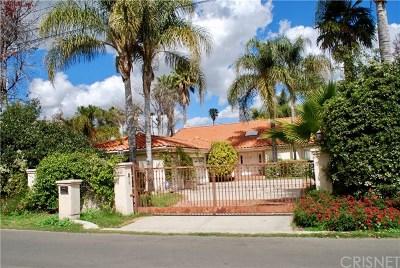 Tarzana Single Family Home For Sale: 19443 Hatteras Street