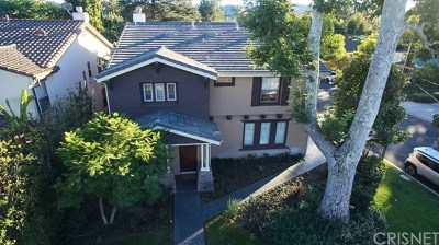 Studio City Single Family Home For Sale: 12772 Hortense Street