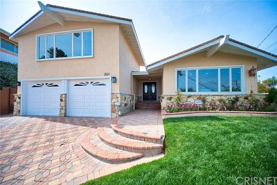 Rancho Palos Verdes Single Family Home For Sale: 2521 Colt Road