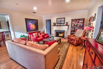 Toluca Lake Single Family Home For Sale: 4546 Willowcrest Avenue