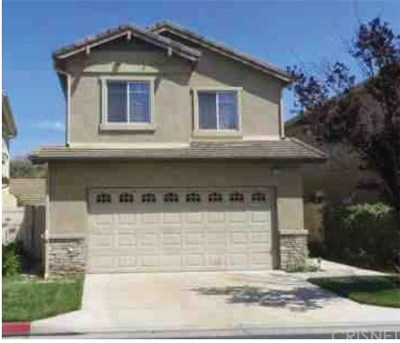 Canyon Country Single Family Home For Sale: 27136 Marisa Drive