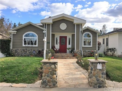 Woodland Hills Single Family Home For Sale: 22024 Lopez Street
