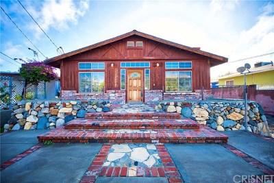 Tujunga Single Family Home For Sale: 10536 Mount Gleason Avenue