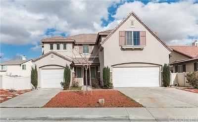 Palmdale Single Family Home For Sale: 38154 Soudan Avenue