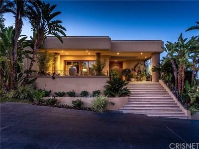 Calabasas Single Family Home For Sale: 24359 La Masina Court