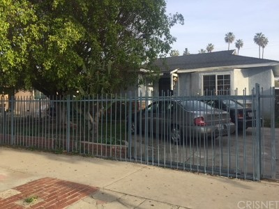 Van Nuys Single Family Home For Sale: 14723 Delano Street
