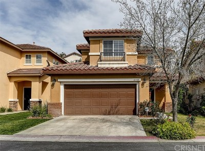 Canyon Country Single Family Home For Sale: 27704 Clio Lane