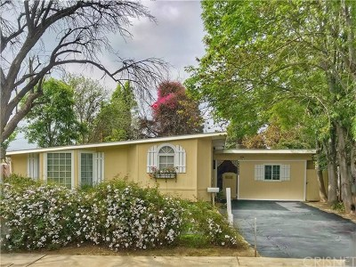 Reseda Single Family Home For Sale: 17908 Hatton Street