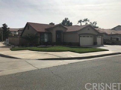 Palmdale Single Family Home For Sale: 3958 Cocina Lane
