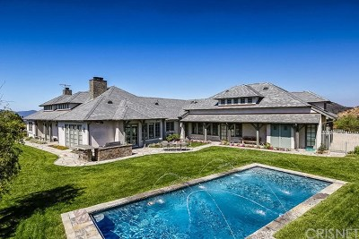 Calabasas Single Family Home For Sale: 3300 Cordova Drive