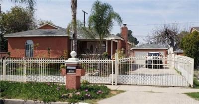 Arleta Single Family Home For Sale: 13891 Rayen Street