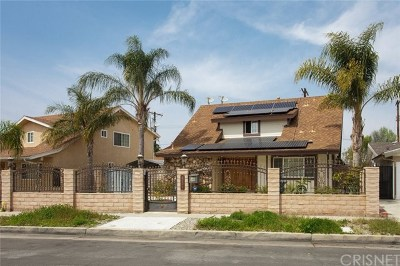 North Hollywood Single Family Home For Sale: 13001 Lull Street