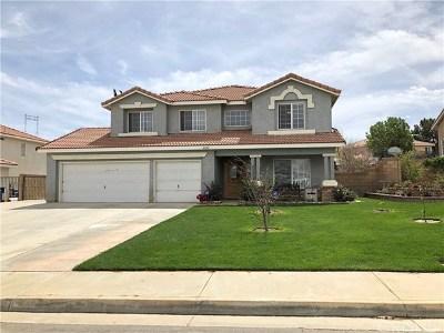 Lancaster Single Family Home For Sale: 6244 W Avenue L12