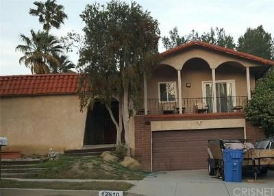 Granada Hills Single Family Home For Sale: 12610 Meadowlark
