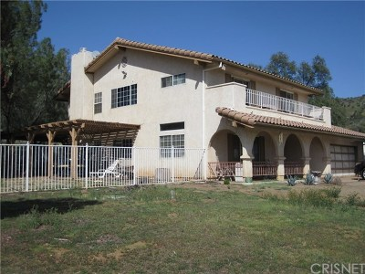 Agua Dulce Single Family Home Active Under Contract: 9909 Escondido Canyon Road