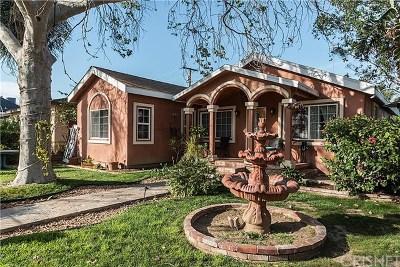 San Fernando Single Family Home For Sale: 601 Omelveny Avenue