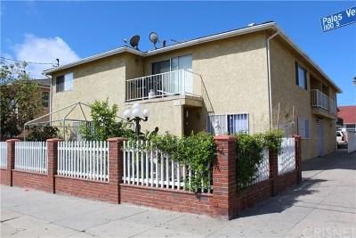 San Pedro CA Multi Family Home For Sale: $900,000