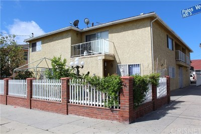 San Pedro Multi Family Home For Sale: 1101 S Palos Verdes Street