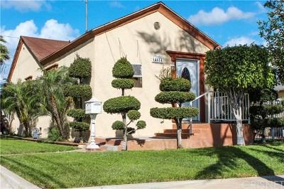 San Fernando Single Family Home For Sale: 14614 San Fernando Mission Boulevard