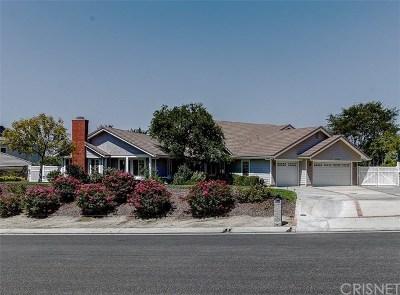Acton, Canyon Country, Castaic, Newhall, Saugus, Stevenson Ranch, Valencia, Agua Dulce, Santa Clarita Single Family Home For Sale: 15349 Saddleback Road