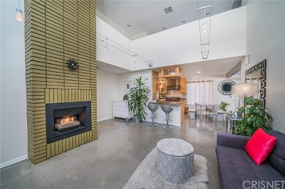 Studio City Condo/Townhouse For Sale: 4311 Colfax Avenue #217