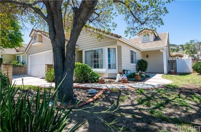 Castaic Single Family Home Active Under Contract: 31249 Quail Valley Road