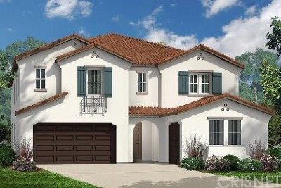 Acton, Canyon Country, Castaic, Newhall, Saugus, Santa Clarita, Stevenson Ranch, Valencia, Agua Dulce Single Family Home For Sale: 19183 Bension Drive