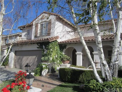 Stevenson Ranch Single Family Home Active Under Contract: 26220 Beecher Lane