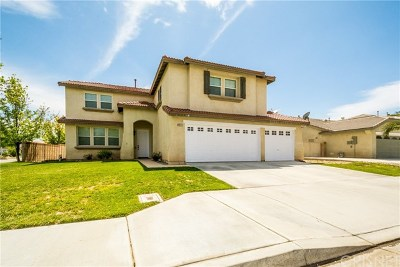 Palmdale, Lancaster, Quartz Hill, Antelope Acres, Rosamond, Leona Valley, Green Valley, Lake Elizabeth, Pearblossom, Littlerock, Juniper Hills, Llano, Lake Los Angeles, Wrightwood Single Family Home For Sale: 4632 W Avenue J4
