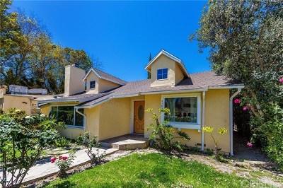 Sherman Oaks Single Family Home For Sale: 4503 Vesper Avenue