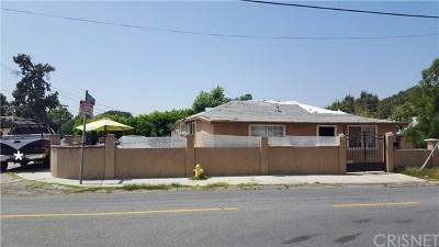 Sunland Single Family Home For Sale: 10535 Oro Vista Avenue