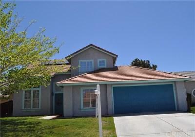 Rosamond Single Family Home For Sale: 2548 Cold Creek Avenue