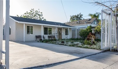 North Hollywood Single Family Home For Sale: 5217 Strohm Avenue