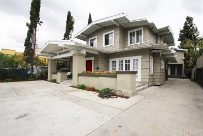 Hollywood Multi Family Home For Sale: 5633 La Mirada Avenue